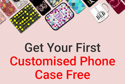 Amzer - Get Your First Customised Mobile Case For Free