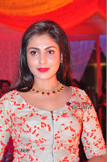 Actress Madhu Shalini Exclusive Stills in Party Dress at Vijay Karan Aashna Wedding  0008.JPG