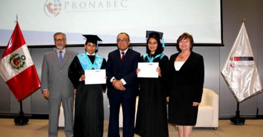 PRONABEC: 500 becarios se gradúan en primeros puestos - www.pronabec.gob.pe