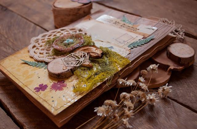 #scrapbooking#rustic#экостиль#summer#album#