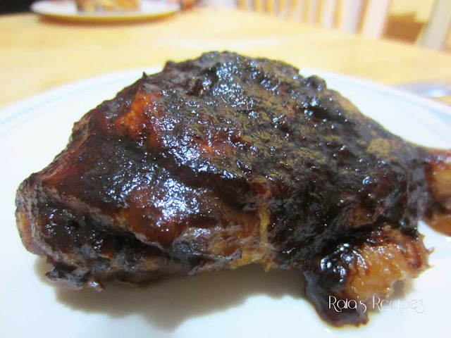 Oven BBQ Chicken by Raia's Recipes