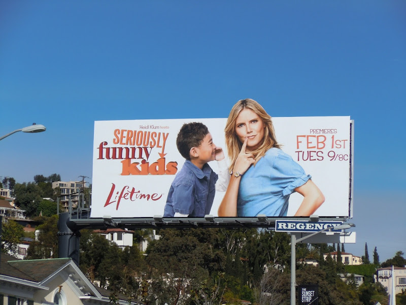 Seriously Funny Kids billboard
