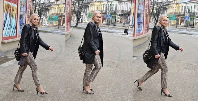 Atmosphere, BabooshkaStyle, Dune London, Heidi Klum Esmara, Stadivarius, blogfashion, over50style, animal print