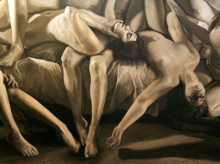 Bacchanalia by Elise Mesnard