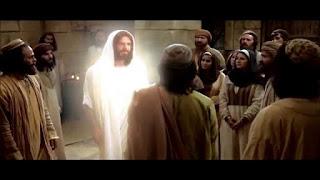ظهور السيد المسيح لتلاميذة القيامة