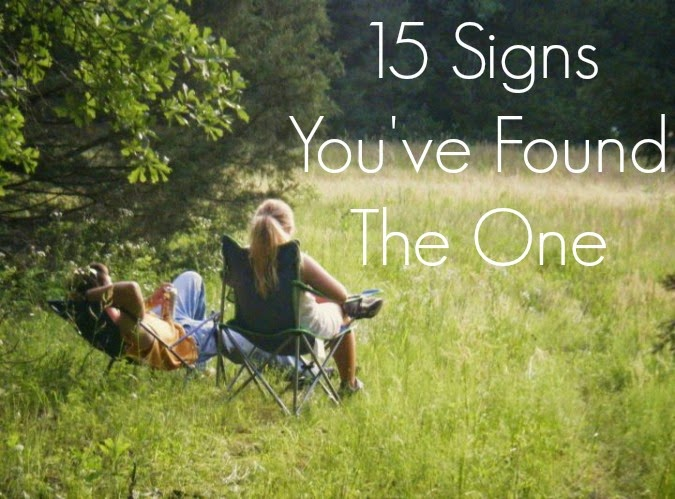 15 Signs You've Found the One