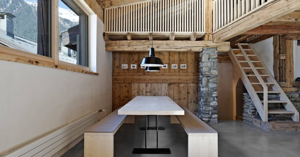 Ammodernamento di una casa colonica a chamonix blog di for Piani di una casa colonica