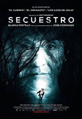 Secuestro 2016 DVD Custom NTSC Spanish