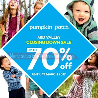 Pumpkin Patch Closing Down Sale 2017