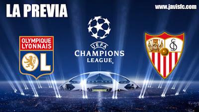 Previa Olympique de Lyon - Sevilla FC