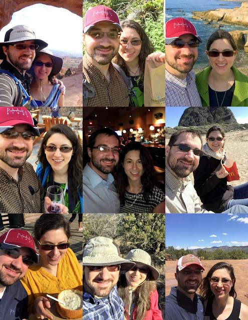 anniversary collage