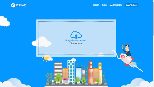 Hướng dẫn cách kiếm tiền từ trang Upload File - Mshare.io