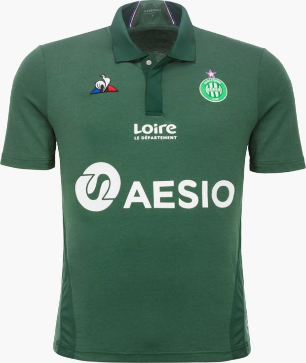 daca1b351f Le Coq Sportif divulga as novas camisas do Saint-Etienne