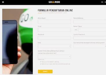 Cara Daftar Gojek Online Di Android