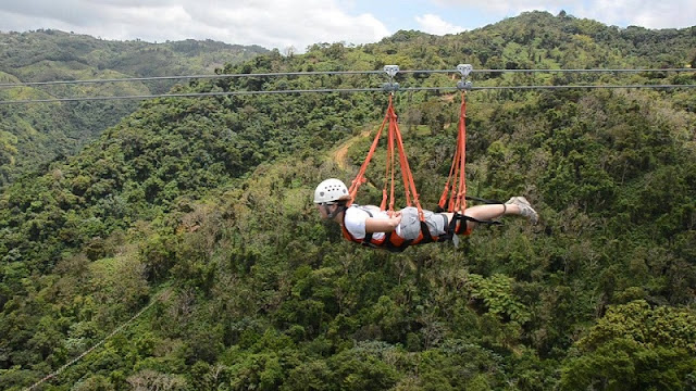 "Places in Vietnam where you can ""chill"" yourself with Zipline 1"