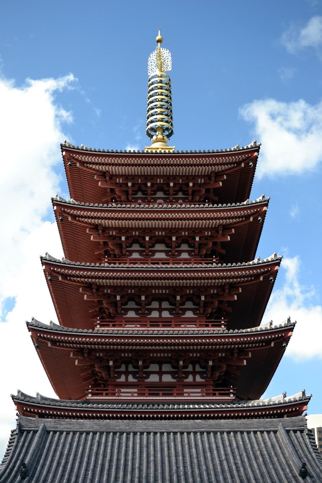 Sensoji temple, Tokyo, shinto, buddhist, Japan, must do tokyo, pagoda,