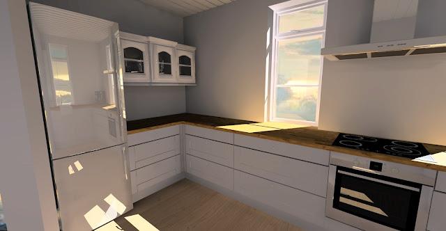 Kreatywne życie Budowa Domu Projekt Kuchnia
