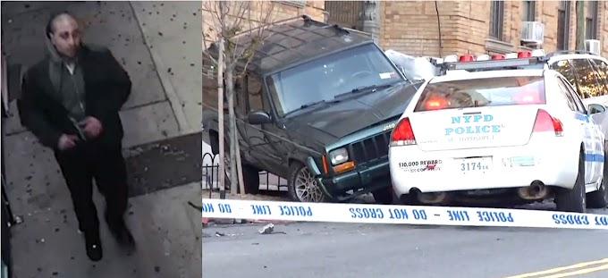 Detienen dominicano que robó carro patrulla del NYPD y chocó cuatro vehículos en El Bronx