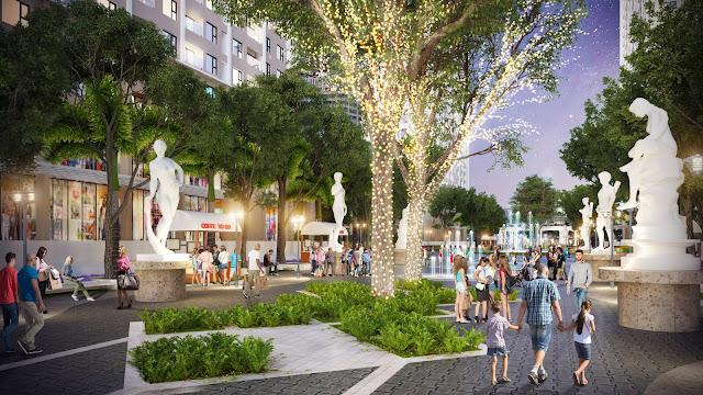 Quảng trường dự án An Bình City