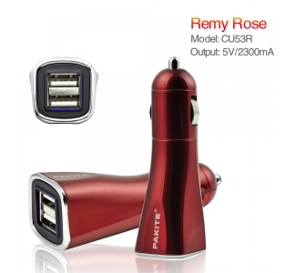 PAKITE Dual USB Car Charger 2300mah CU53B