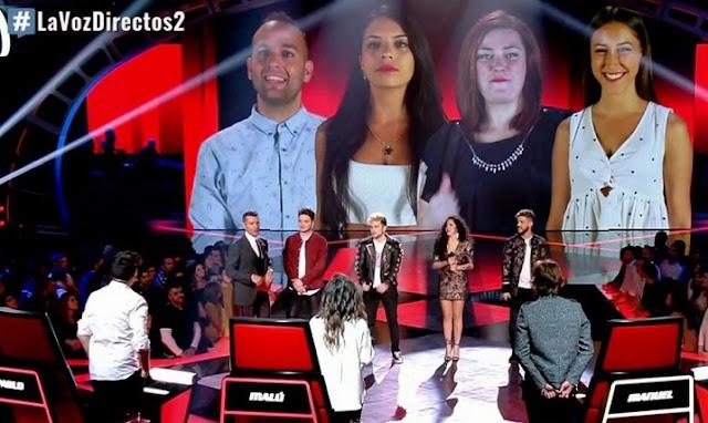 Directos La Voz 2017 | Todos los semifinalistas