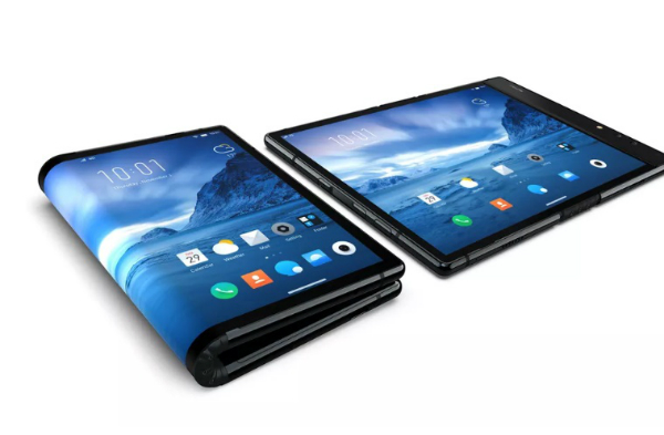 Stunning: a Chinese company hits Samsung and offers the first mobile phone folding (video)