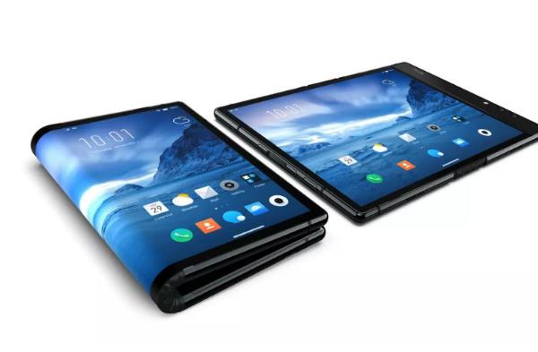 مذهل: شركة صينية تصدم سامسونغ وتقدم أول هاتف بشاشة قابلة للطي (فيديو)
