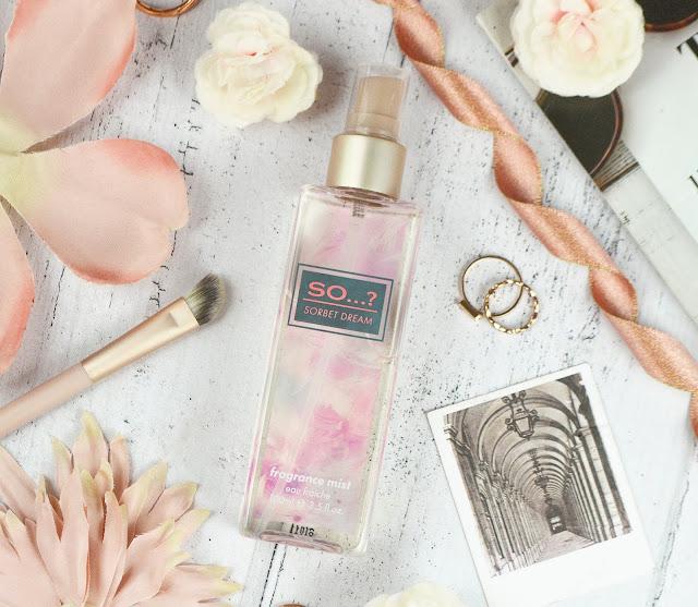 New Releases from So...? Fragrance - Sorbet Dream Body Mist & Eau De Parfum and Summer Escapes Travel Set, Lovelaughslipstick Blog