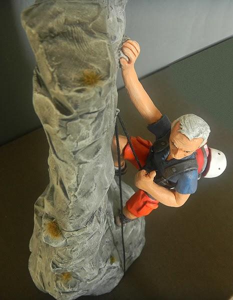 statuine alpinisti personalizzate idee regalo sportivo cake topper torta orme magiche