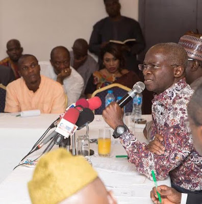 Fashola lists achievements of his ministries in the last one year