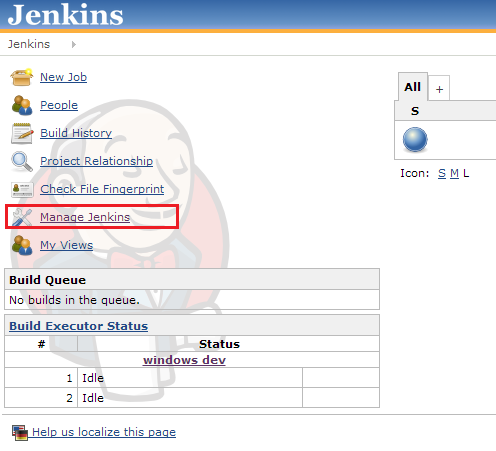 Just anything!: Setting Jenkins' maven repository to be