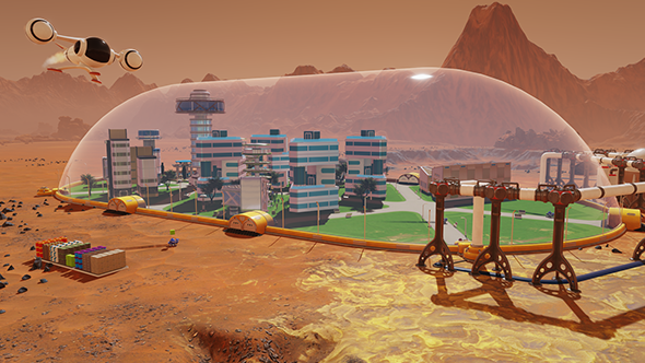 Surviving Mars game