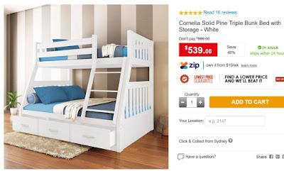 Children-wooden-kids-bedroom-furniture---white