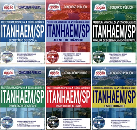Apostila concurso Prefeitura de Itanhaém 2017