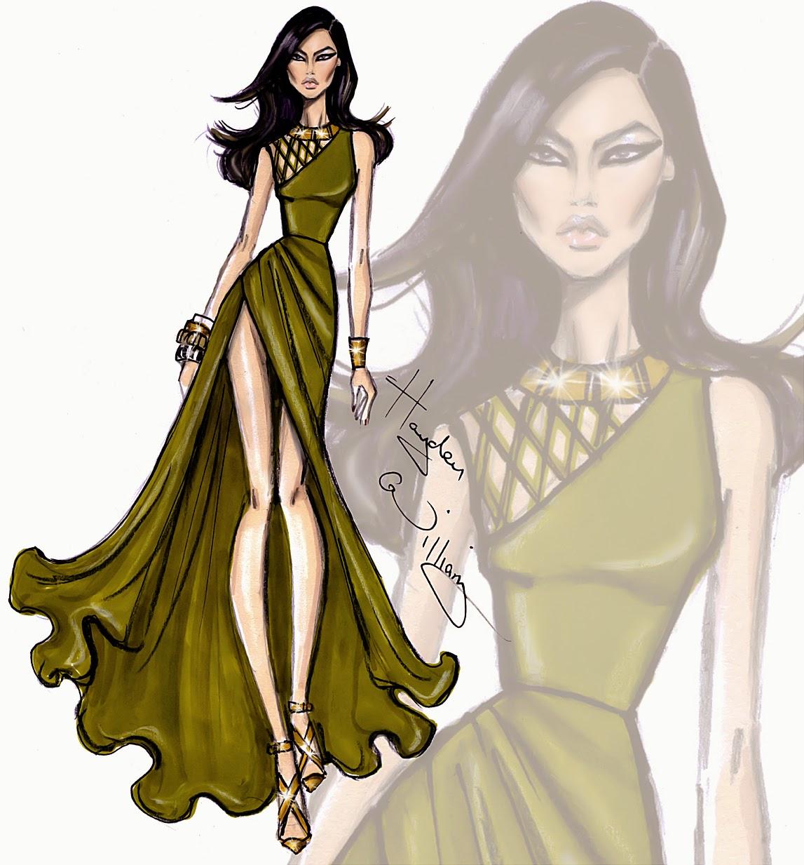 Hayden Williams Fashion Illustrations: July 2014