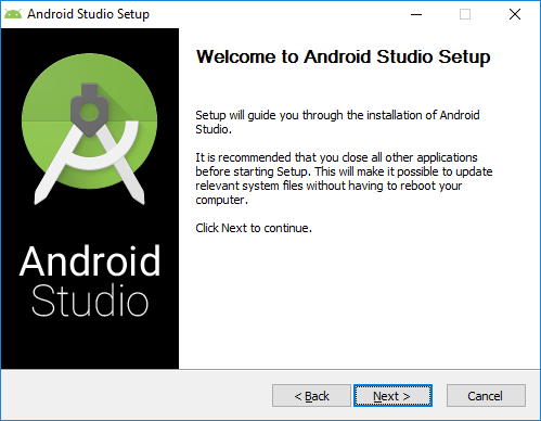 1 android studio installation