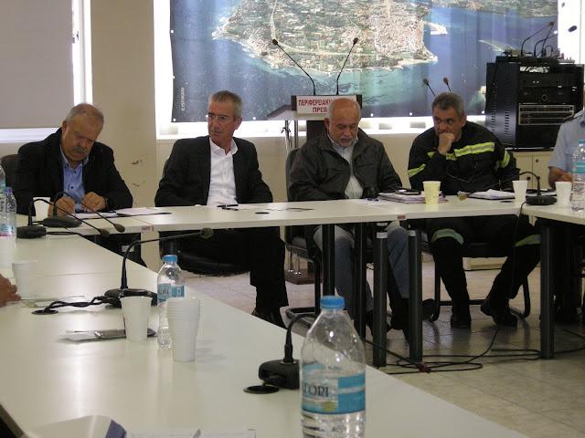 Πρέβεζα: Σύσκεψη Για Τις Πυρκαγιές