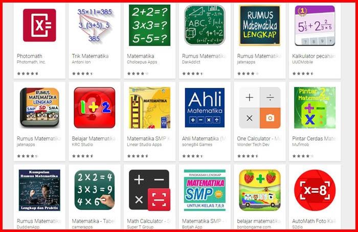 20 Aplikasi Belajar Matematika untuk Anak Sekolah [Download]