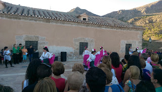 Sevillana, Albox, Sanctuario del Saliente
