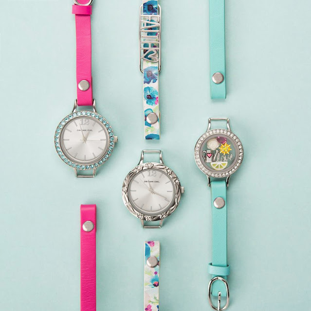 Customize your Origiami Owl Watch available at StoriedCharms.com