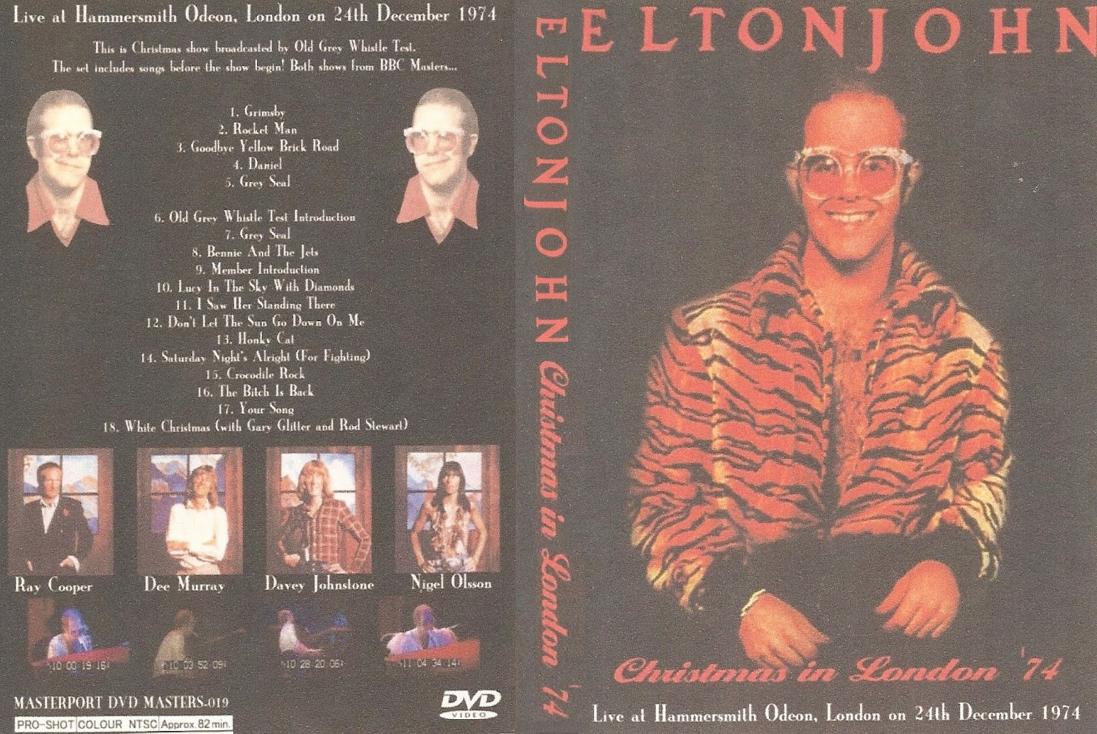 Elton John Christmas Song.T U B E Elton John 1974 12 24 London Uk Dvdfull Pro