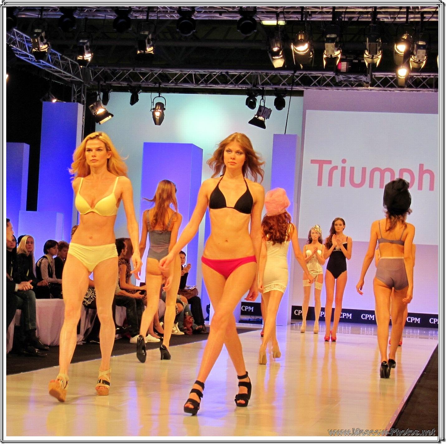 Collection Premiere Moscow  - Triumph Lingerie Fashion Show