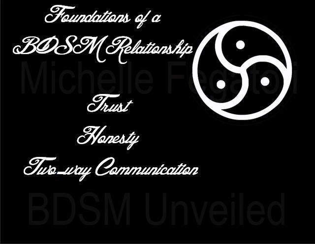 Foundations of a BDSM Relationship