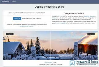 Compressify : compresser les vidéos