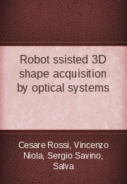 Robot Assisted 3D shape acquisition by optical systems
