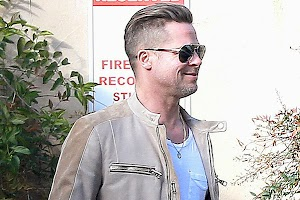 Brad Pitt is not yet at the Olympic Games in Sochi