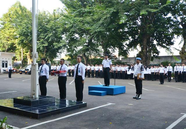 Peringati Hari Lahir Pancasila, Kepala Biro Umum Bakamla Bacakan Sambutan Presiden RI