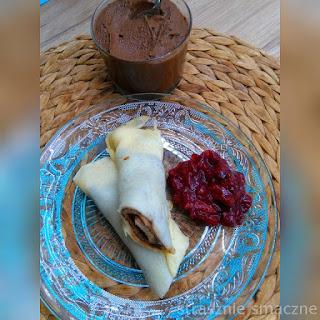Słodki krem z ciecierzycy (cieciorella)