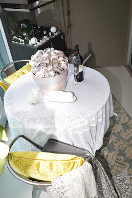 Outdoor furniture, centerpieces, Decor pillows, DeLoach Merlot, By: JoFer Interiors