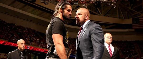 Triple H vs Seth Rollins